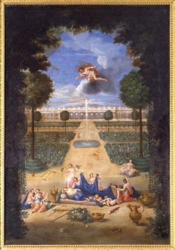 Expos Jean COTELLE 1646-1708 DES JARDINS ET DES DIEUX