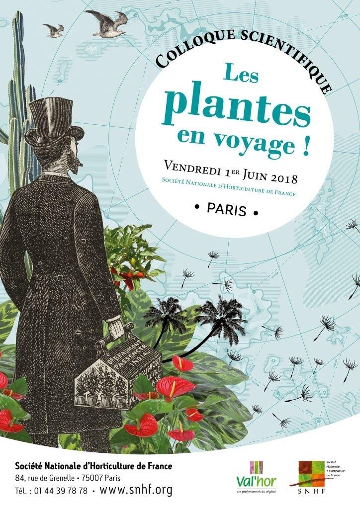 Colloque scientifique Les plantes en voyage !