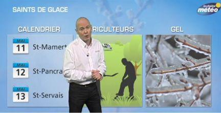 Saints de glace du 11 au 13 Mai : gel ou pas gel ?