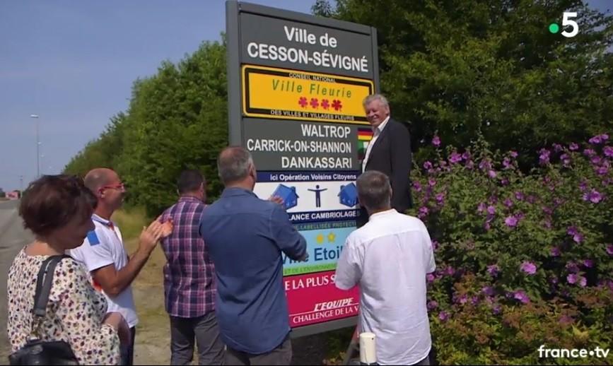 Le doc du dimanche de la 5 consacré au label «Villes et villages fleuris» en replay