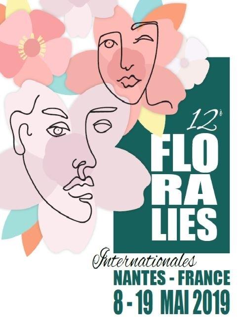 Les 12 eme Floralies de Nantes c'est parti jusqu'au 19 Mai 2019