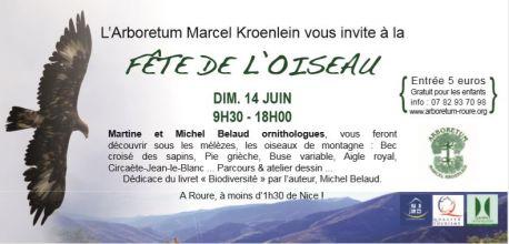 L'Arboretum Marcel Kroenlein vous invite à la fête de l'oiseau