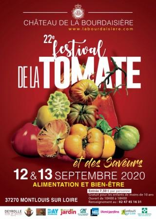 22ème édition du Festival de la tomate et des saveurs du château de la Bourdaisière
