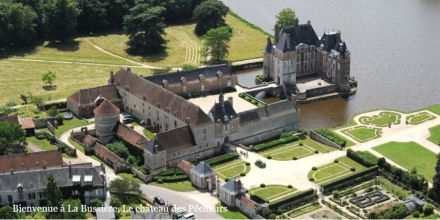 Réouverture des parcs et jardins du château de La Bussière