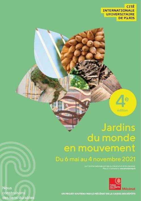 """LE 4e FESTIVAL """"JARDINS DU MONDE EN MOUVEMENT"""" du 6/5 au 4/11/2021"""
