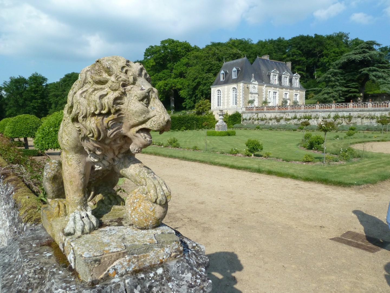 Dessins, Desseins de Jardins au Chateau de Valmer