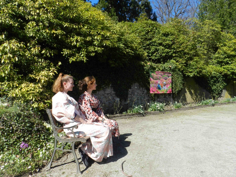 Déambulation photographique dans les jardins