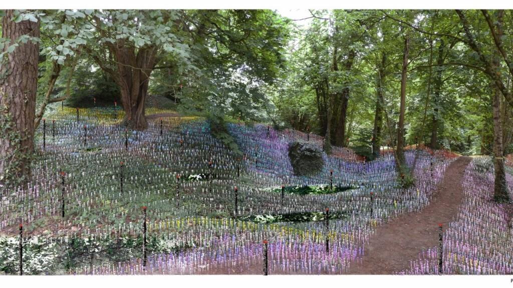 15 Jardins de la paix  inaugurés en Hauts de France