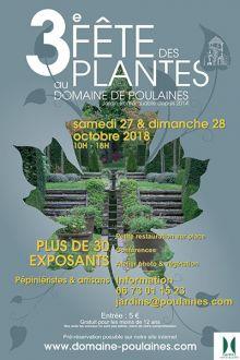 3° FÊTE DES PLANTES AU DOMAINE DE POULAINES