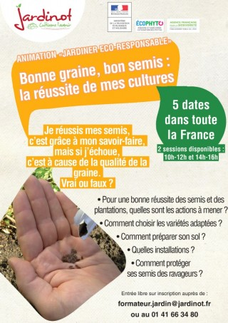 BONNE GRAINE, BON SEMIS : LA RÉUSSITE DE MES CULTURES