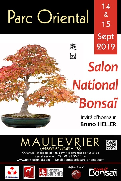 Le Salon national du bonsaï à Maulévrier