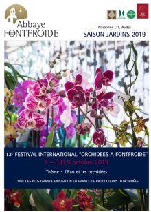 13ème FESTIVAL INTERNATIONAL ORCHIDÉES À FONTFROIDE