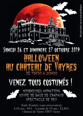 Halloween au château de Vayres