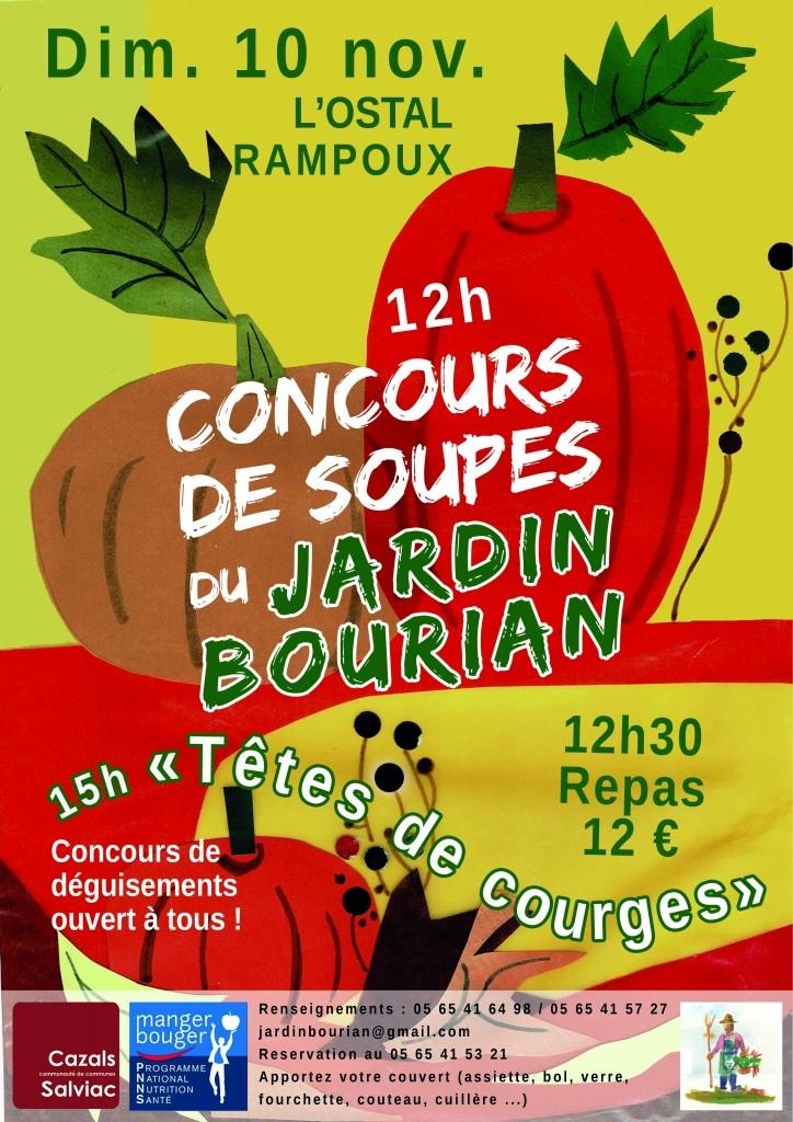 Concours de soupes du Jardin Bourian