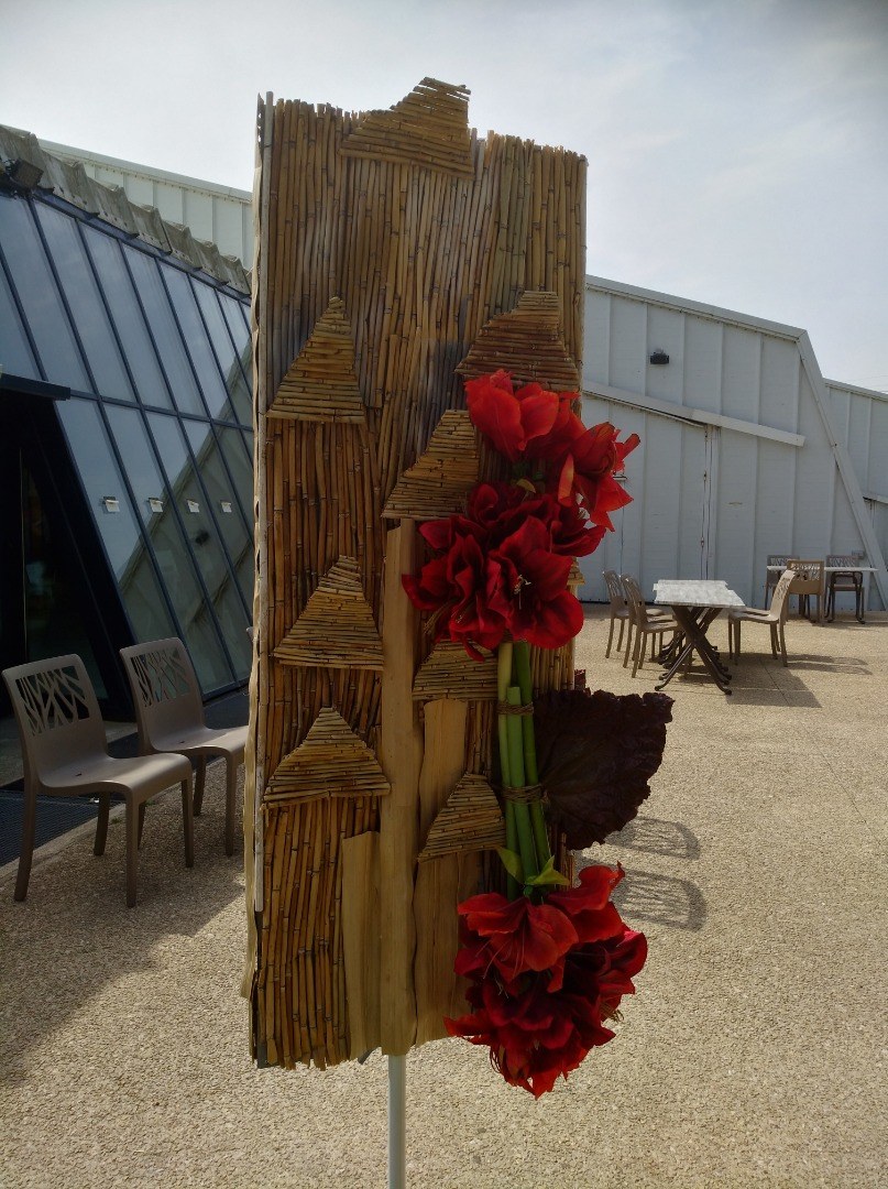 exposition et concours de bouquets de fleurs