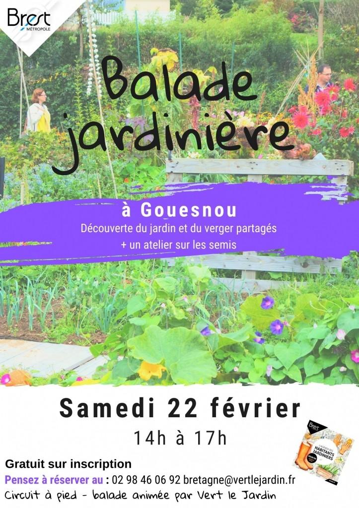 Balade jardinière à Gouesnou