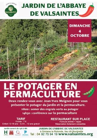 Le potager en permaculture à Valsaintes