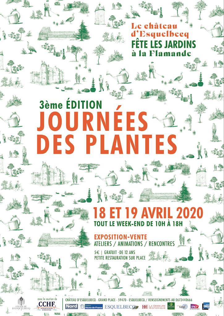 3ème édition des Journées des plantes au Château d'Esquelbecq (59)