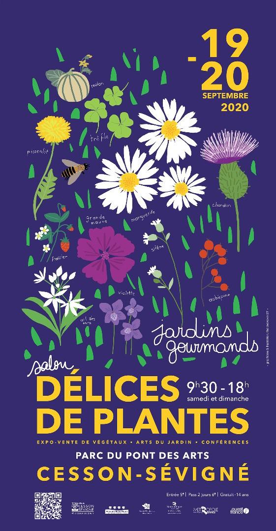 Délices de Plantes - Salon des Jardins et du Végétal de Cesson-Sévigné (35)
