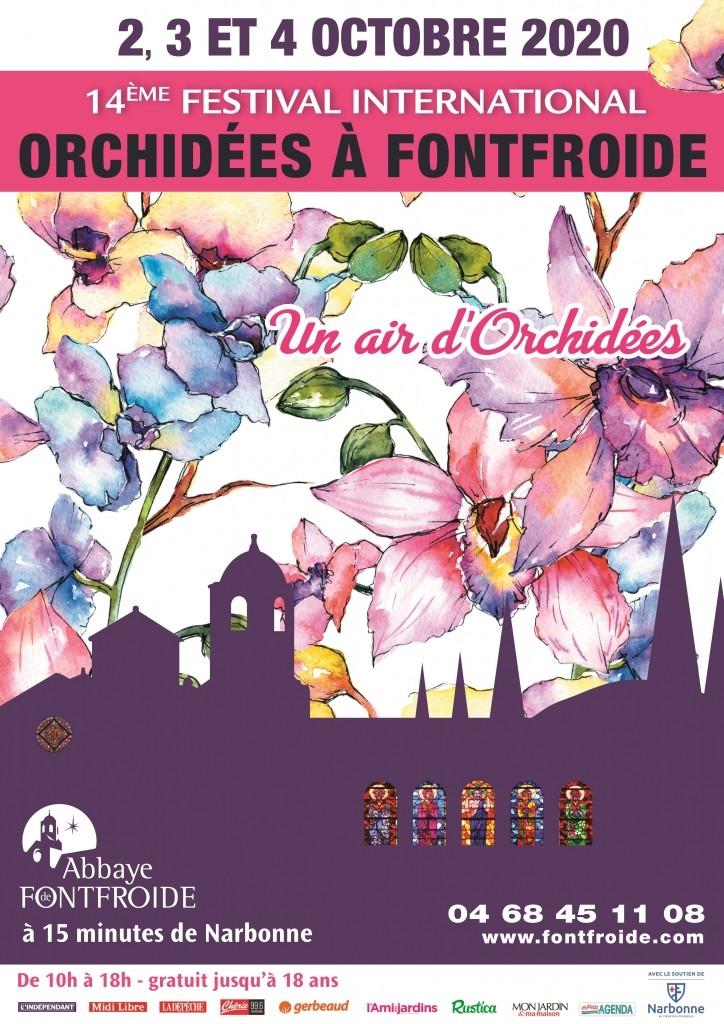 14eme festival international des orchidéees de l'abbaye de Fontfroide