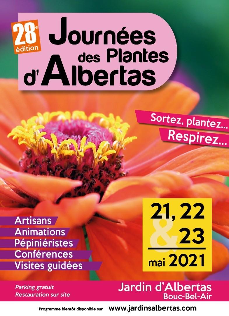 Journées des Plantes d'Albertas - 21, 22 et 23 mai 2021
