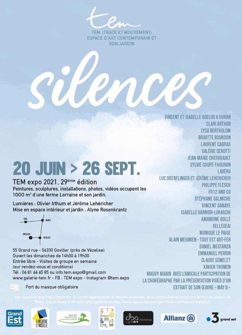 """Silences"" - Exposition Collective TEM  2021"
