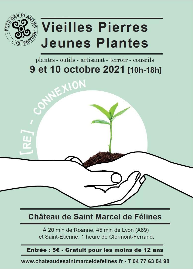 """12ème édition de """"Vieilles Pierres, Jeunes Plantes"""" au château de St Marcel de Félines"""