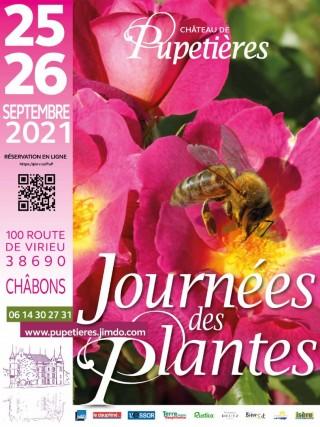 Journées des Plantes à Pupetieres les 25 et 26 septembre 2021, plus de 70 exposants...