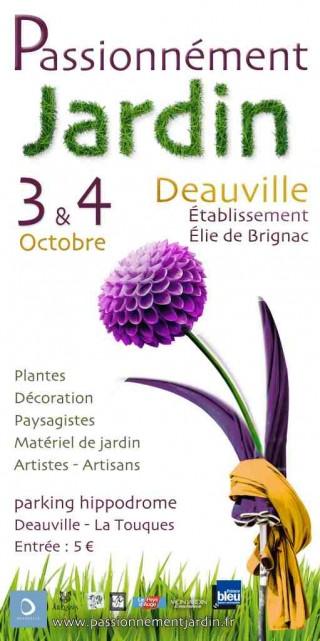 Le salon Passionnément Jardin s'installe à Deauville