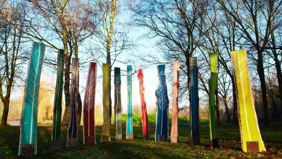 L'art au Jardin •Matériaux innovants