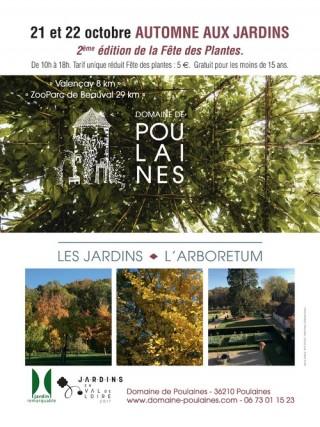 Théâtre aux Jardins - 2e édition de la fête des plantes au Domaine de Poulaines
