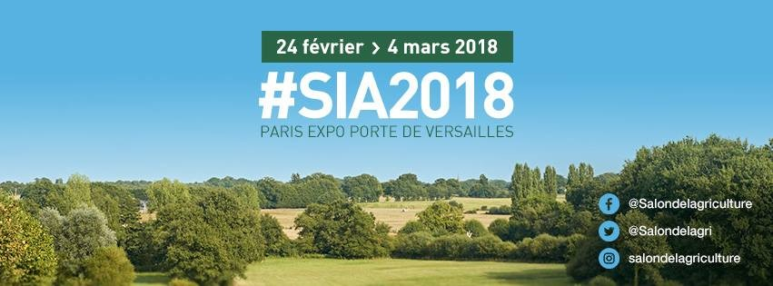 """L'agriculture: une aventure collective "" : Salon International de l'Agriculture 2018"